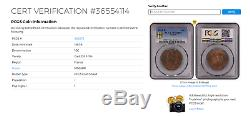 10 centimes NAP III 1861 K (Bordeaux) SPL+, PCGS MS64 COLLECTION IDÉALE