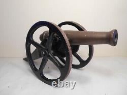 Ancien Grand Canon Miniature Napoleon III Artillerie XIX Ème Bronze Fonte 3kg