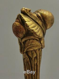 Ancien Sceau Cachet collector Bronze Doré Numéroté signé M. Frecourt Escargot