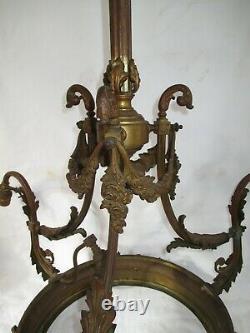 Ancien lustre en bronze Napoléon III
