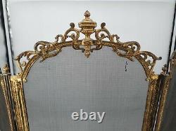 Ancien pare étincelles en bronze époque Napoléon III