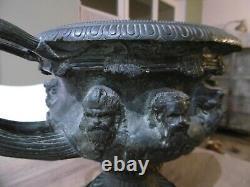 Ancienne coupe en bronze dit de Warwick No Barbedienne