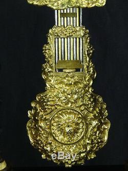 Ancienne pendule portique d'époque Napoléon III, XIXème