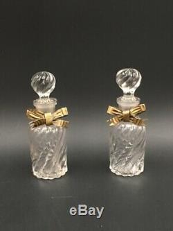 Baguier Napoléon III verre multicouche bronze / Antique overlay glass jewel set