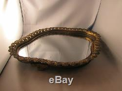 Bel ancien surtout de table bronze doré napoleon III 19e glace mercure