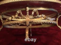 Belle coupe centre de table style Louis XVI époque Napoléon III en bronze