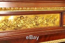 Bibliothèque style Louis XVI bronzes dorés Napoléon III Paris style Linke Dasson