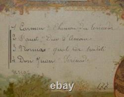 Boite à musique Napoléon III 4 mélodies très bon état