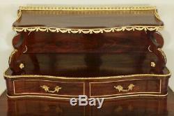 Bureau Napoléon III bronzes dorés