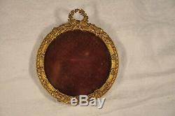 Cadre Photo Ancien Bronze Napoleon III Antique Photo Frame