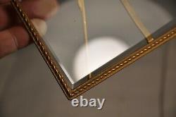 Cadre Photos Ancien Bronze Dore Napoleon III Antique Photo Frame Holder
