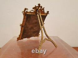 Cadre Photos, Bronze Doré, Louis XV/rocaille, XIX°