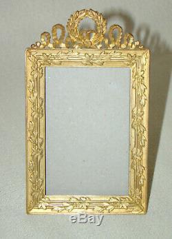 Cadre bronze doré Napoleon III Bronze frame