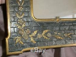 Cadre porte photo Napoléon III en bronze patiné Décor Fleurs Oiseau & Papillon