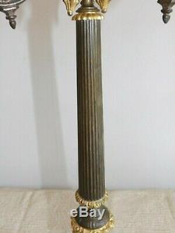 Candélabre en bronze 19ème siècle