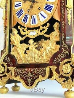 Cartel Napoléon III bronze, signé Martinot, pendule, non Empire, clock