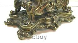 Cartel Pendule Louis XV Bronze Dore Japy Levassort Paris Epoque Napoleon III 19e