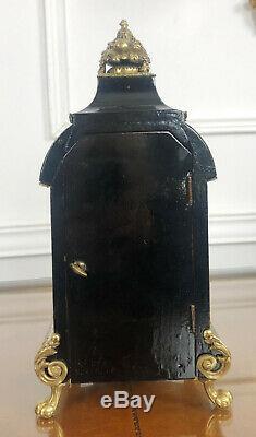 Cartel à Poser Dépoque Napoléon III En Marqueterie Boulle Orné De Bronze