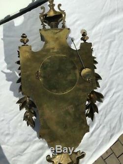 Cartel pendule Bronze XIX époque napoleon III