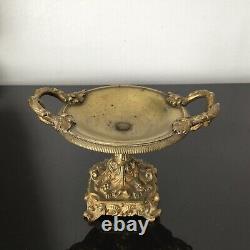 Coupe en Bronze Doré XIXè Napoléon III Victorian Gilded Bronze Cup 19thC