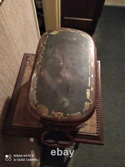 Daubiere en cuivre du XIXème avec Poignées en Bronze