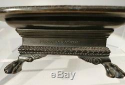 Encrier Napoléon III Barbedienne bronze néo étrusque signé vers 1850-80