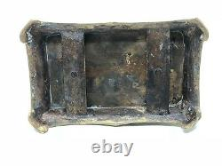 Encrier au Chinois Bronze Epoque Napoléon III Fin du XIX ème Siècle Bureau