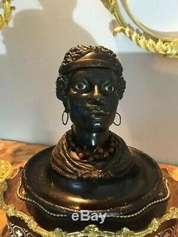 Encrier en bronze XIX em siècle