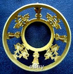 Fontaine 4 flacons à parfum dans cave ronde en bronze doré à l'Or, Napoléon III