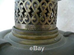Gagneau, superbe lampe a pétrole 60 cm