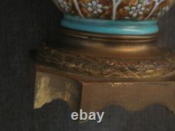 Grand vase japonisant en céramique monté bronze