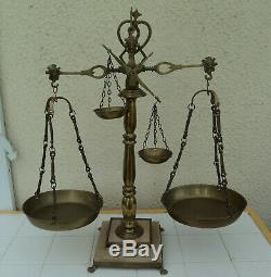 Grande Balance De Justice Trebuchet Napoleon 3