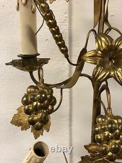 Grande Lampe Eglise Bronze Ancien Bougeoir Chandelier Napoléon III XIXeme Lamp
