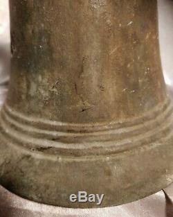 Importante Cloche en Bronze vers 1880 Institution Religieuse Magnifique Son