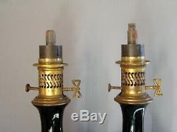 Lampes à pétrole ancienne Napoléon III