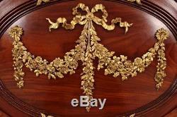 Lit style Louis XVI bronzes dorés Napoléon III Maison Roll Paris
