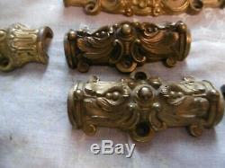 Magnifique Cremone En Bronze Dore A L Or Fin