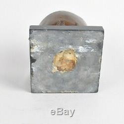 Marmite Du Diable En Bronze Et Marbre, Fin XIXème Siècle