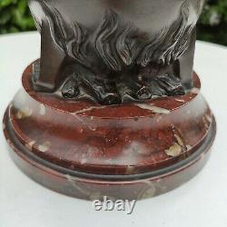Marmite Du Diable, Fin XIXème siècle en Bronze et Marbre