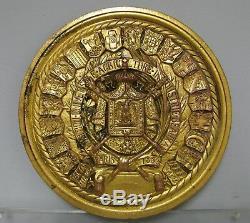 Médaillon en bronze doré. Exposition universelle Paris 1855. Napoléon III