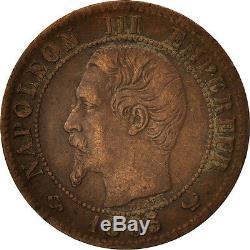 Monnaies, France, Napoleon III, Napoléon III, Centime, 1855, Lille #412253