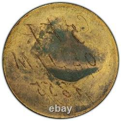 Napoléon III Essai Uniface du Revers 5 Francs or Tête laurée 1862 E PCGS SP65