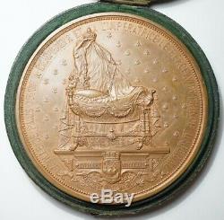Napoleon III Rare Medaille Paris Offre Le Berceau Du Prince Imperial 1856
