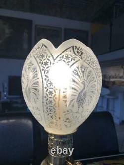Paire De Lampes En Porcelaine De Canton Et Bronze Du XIXème Siècle
