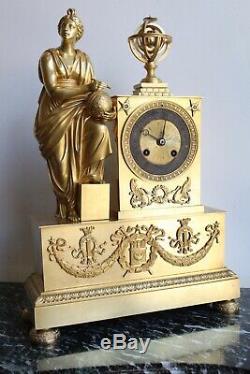 Pendule Astronomie Epoque Napoleon III