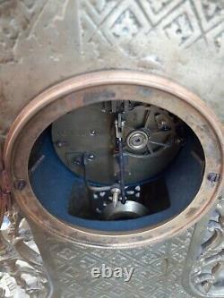 Pendule Horloge Cartel Bronze Doré Louis XVI Napoléon III XIX Eme Clock Pendulum