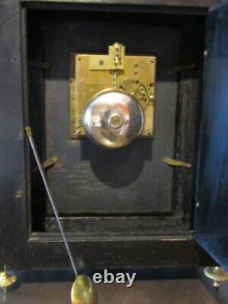 Pendule Religieuse Napoléon III cartel pendule bronze