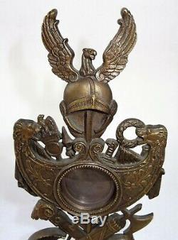 Porte médaille militaire en bronze 19ème