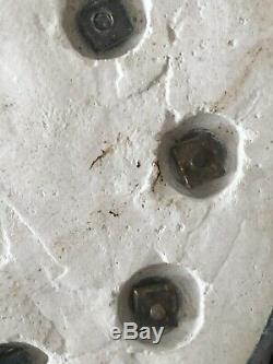 Rare Canon De Midi Montre À Gousset En Bronze Cadran Solaire Clock Watch