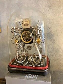 Rare Pendule De Cavalerie